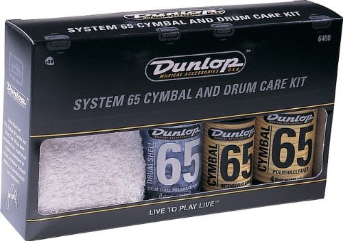 Dunlop 6400 System 65 Cymbal & Drum Care Kit