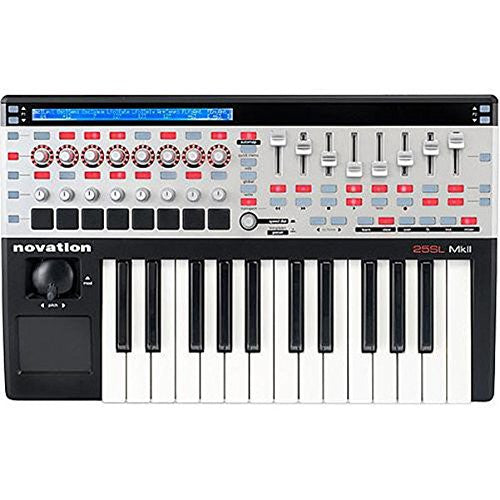 Novation 25 SL MkII 25 Key USB Midi Keyboard