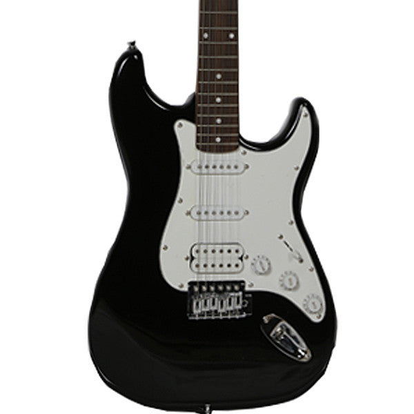 Amaze AT2 Electric Guitar - Black