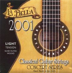 La Bella 2001 Classical Guitar Light Tension Strings