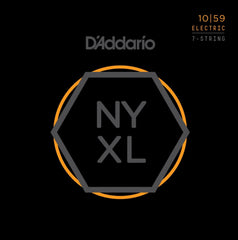 D'Addario NYXL1059 Nickel Wound 7-String Electric Guitar Strings