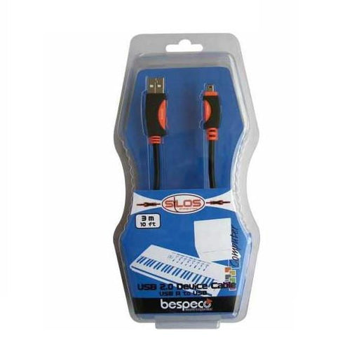 Bespeco SLMA180 USB A to USB A Mini - 1.8 Metres - Open Box