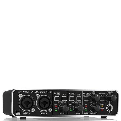 Behringer U-PHORIA UMC204HD 2X4 Audio Interface - Open Box