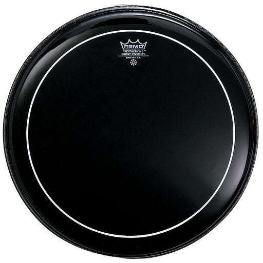 Remo USA ES-0613-PS Ebony Pinstripe Drum Head 13''