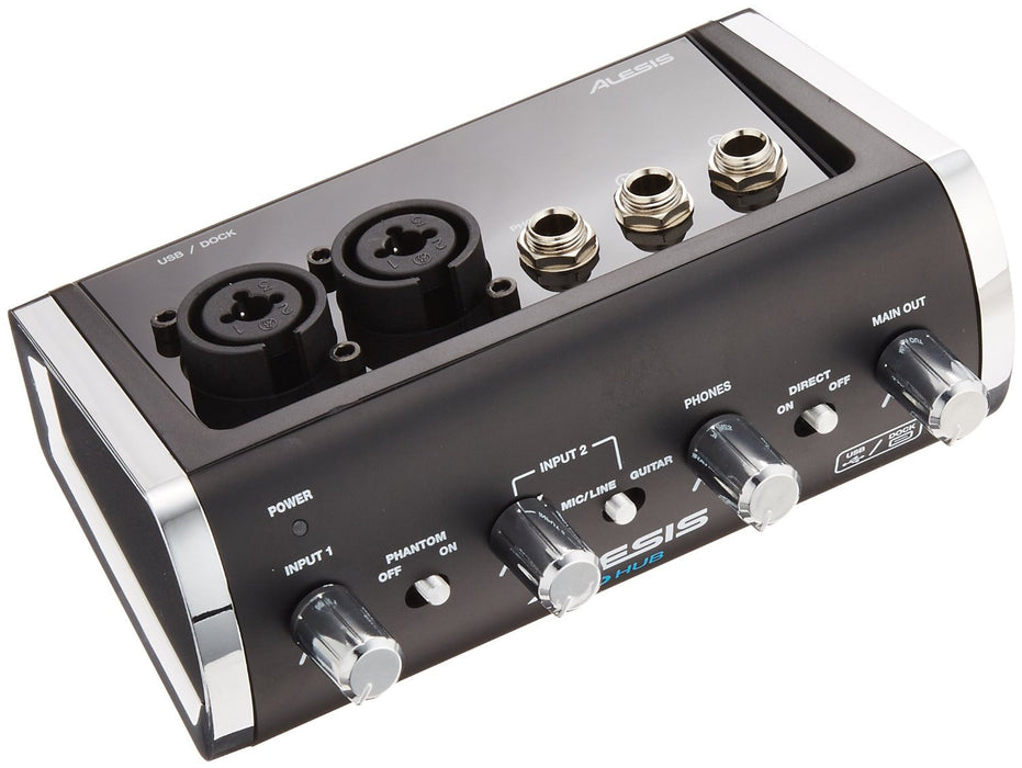 Alesis I/O HUB 2-Channel Audio Interface for iOS and USB