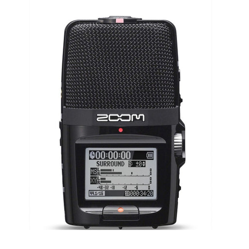 Zoom H2n Handy Portable Digital Audio Recorder - Open Box