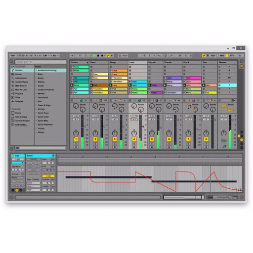 Ableton Live LE TO Live 9 Digital Audio Workstation UPGRADE