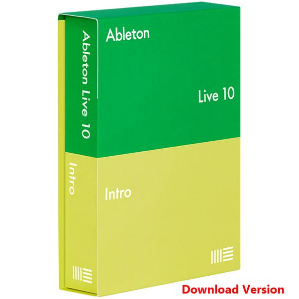 Ableton Live 10 Intro Recording Software - Download Version