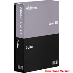 Ableton Live 10 Suite Recording Software - Educational Version