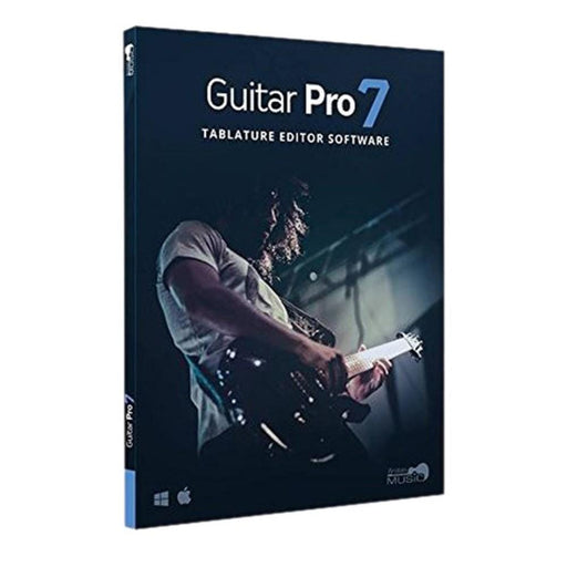 Arobas Music Guitar Pro 7 Guitar Tablature Editing and Composition Downloadable Software & Plug-in