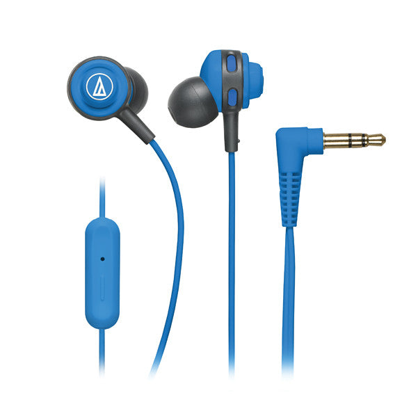 Audio Technica ATH-COR150IS SonicSport In-ear Headphones with In-line Mic & Control