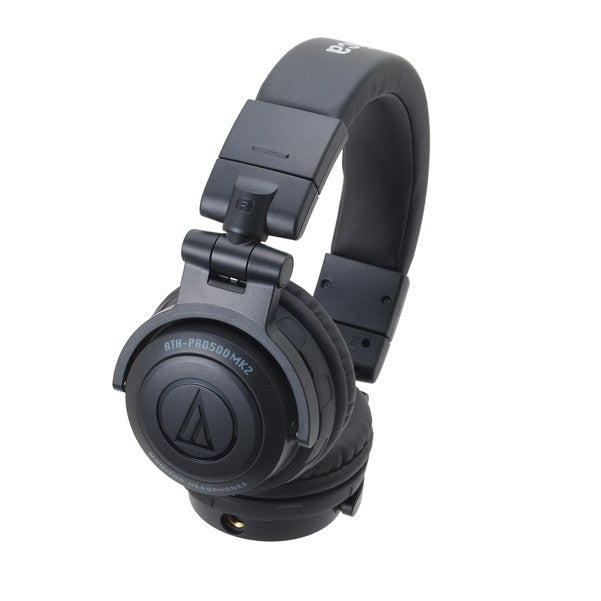 Audio Technica ATH-PRO500MK2 Professional DJ Monitor Headphones - Black