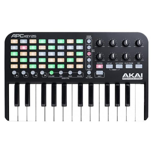 Akai APC Key 25 Ableton Live Midi Keyboard Controller With MPC Beats Software Pack