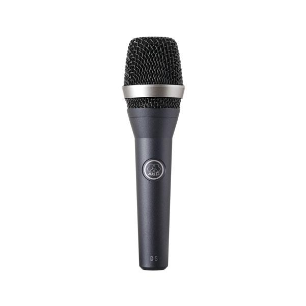 AKG Pro Audio Stage Pack D5 Vocal Dynamic Microphone