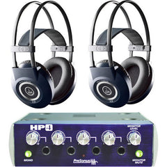 Presonus HP4 Headphone Amp & Two AKG K99 Headphones - AKG K99/HP4