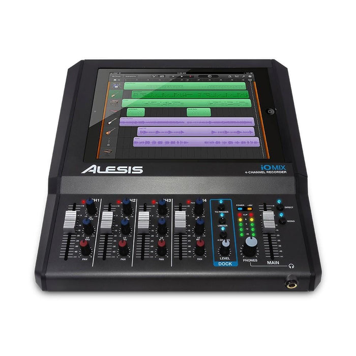 Alesis IOMIX 4-Channel Audio Interface/Mixer for iPad