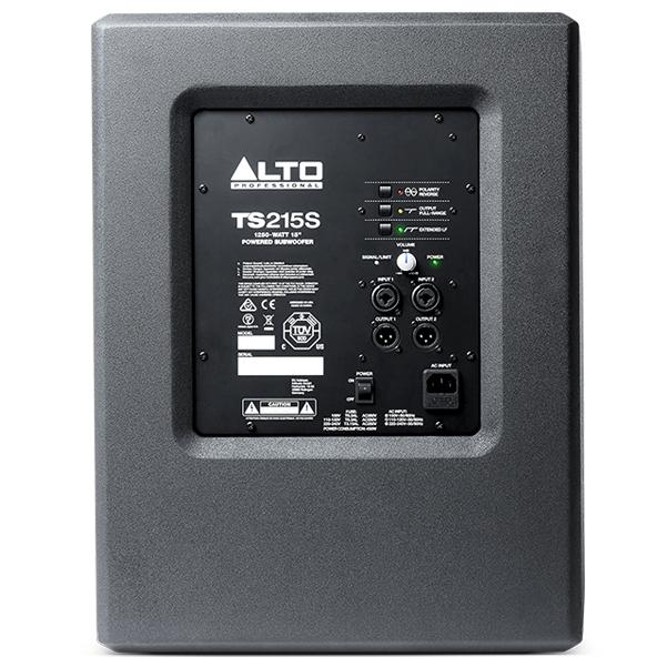 Alto TS215S 1250 Watt 15 inch Powered Subwoofer