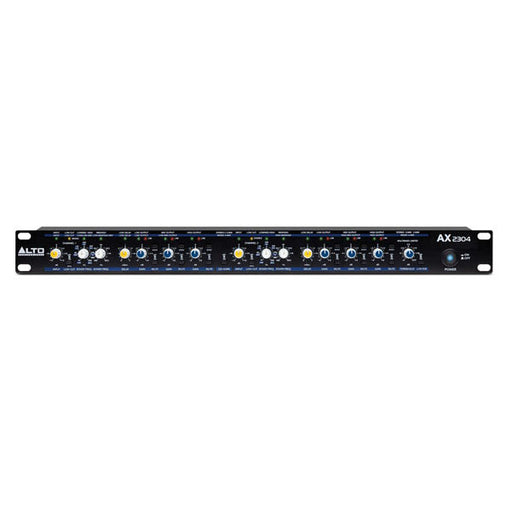Alto AX 2304 Professional High-Precision Stereo 2-Way / 3-Way / Mono 4-Way Crossover