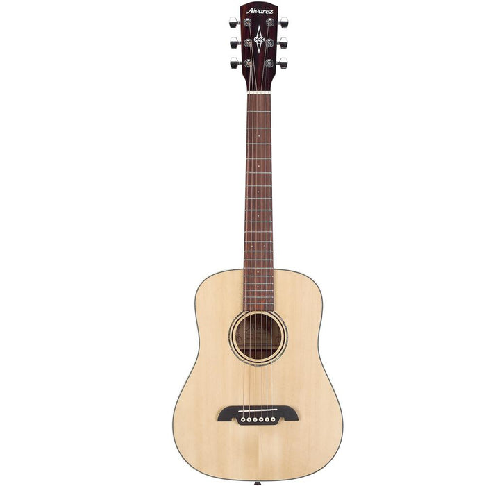 Alvarez RT26 6-String Mini Dreadnought Travel Acoustic Guitar with Gigbag - Natural Gloss