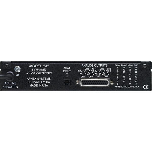 Aphex 141B Eight Channel ADAT to Analog Converter