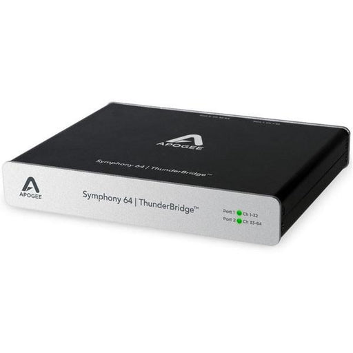 Apogee SYM64-TB ThunderBridge 64 Channel Thunderbolt Connection for Symphony I/O