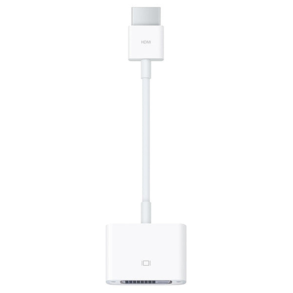 Apple HDMI to DVI Adapter MJVU2ZM/A - White