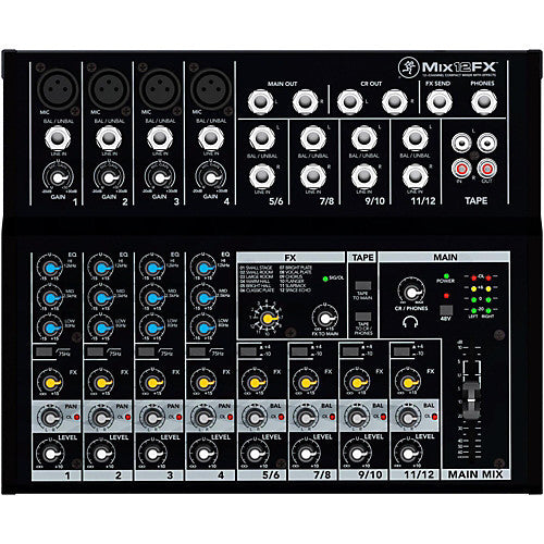Ashton MXL12FX 12 Channel Mixer