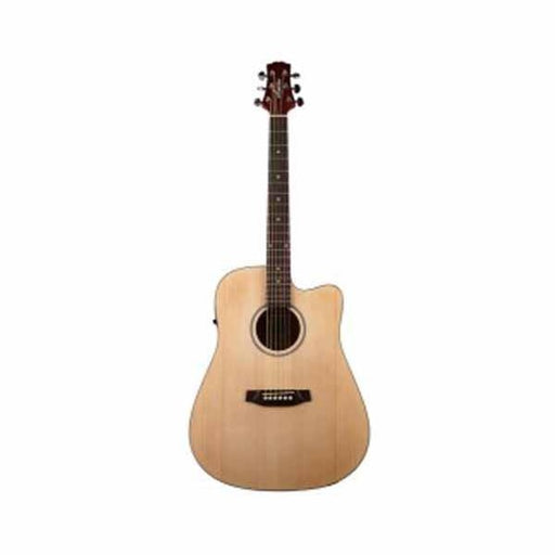Ashton D20CEQ Dreadnought 41-Inch Cutaway Electro-Acoustic Guitar