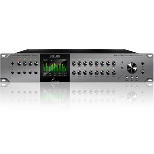 Antelope Audio GOLIATH Thunderbolt, USB & MADI Audio Interface with 16 Mic Pres