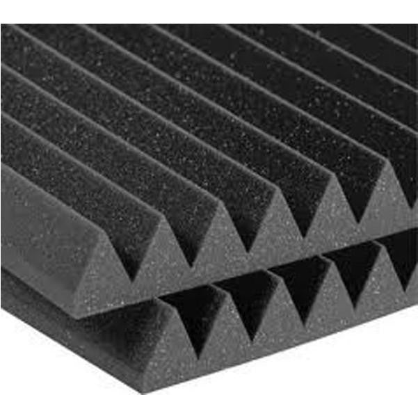 Aurica Wedge Shaped Sound Proofing Acoustic Foam 1ft x 1ft x 2in