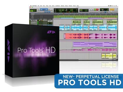 Avid Pro Tools HD Perpetual License with iLok 2 Dongle