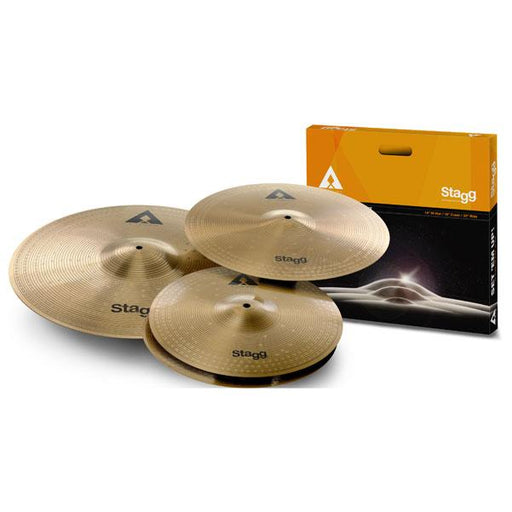 Stagg AXK SET Copper-Steel Alloy Innovation Cymbal Set
