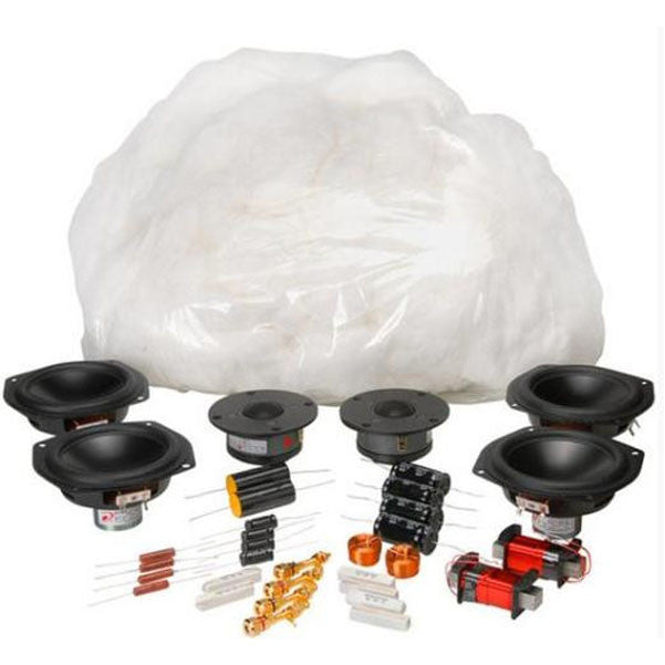 BAJAAO AviaTrix Sealed MTM Components Only Speaker Kit Pair