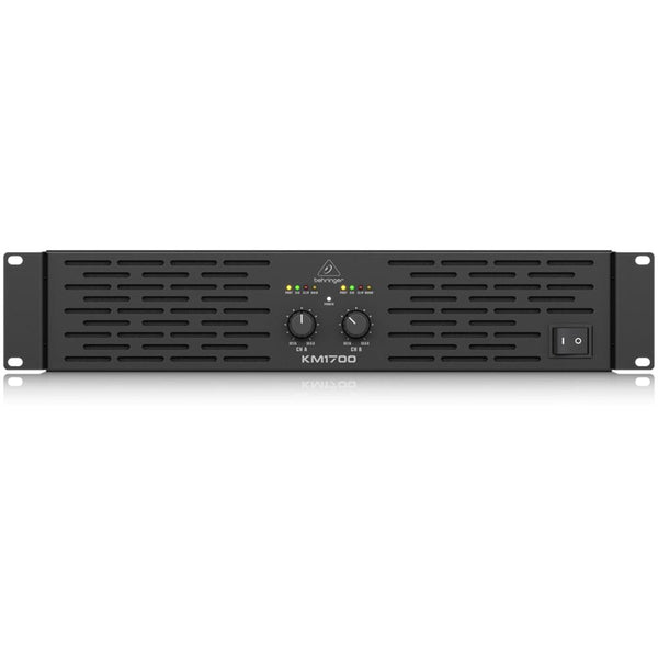 Behringer KM1700 Professional 1700-Watt Stereo Power Amplifier with ATR