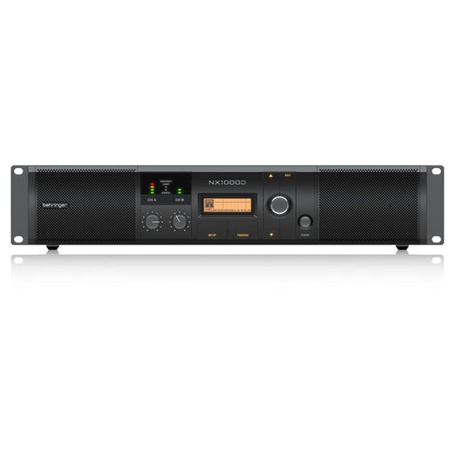 Behringer NX1000D Ultra-Lightweight Class-D Power Amplifier