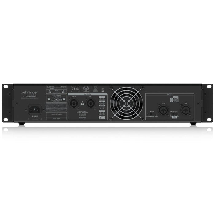 Behringer NX3000 Portable Power Amplifier