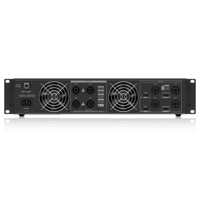 Behringer NX4-6000 Portable Power Amplifier