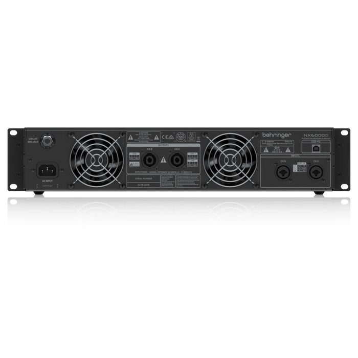 Behringer NX6000D Portable Power Amplifier