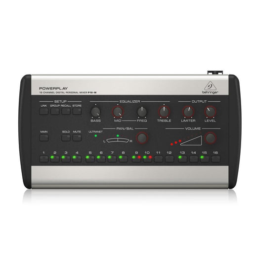 Behringer Powerplay P16M 16-Channel Digital Personal Mixer