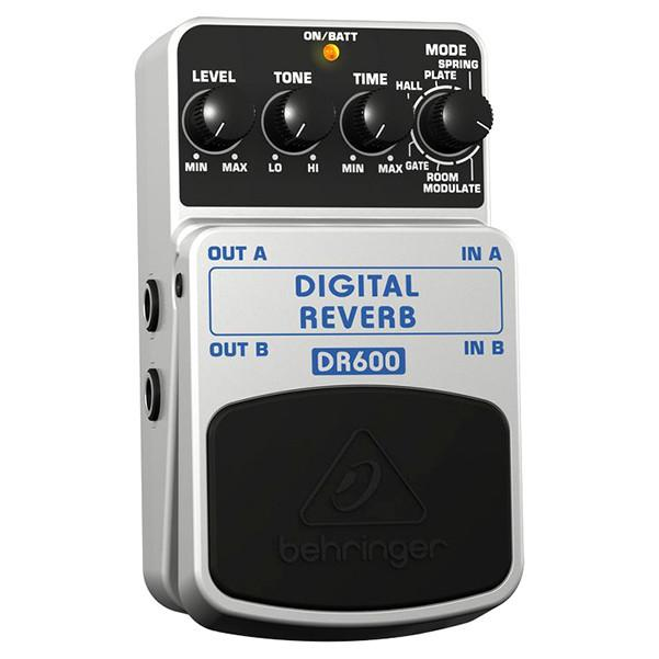 Behringer DR600 Digital Reverb Guitar Effects Pedal