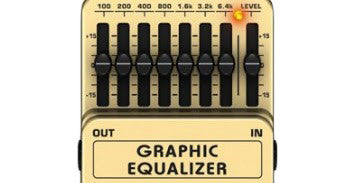 Behringer EQ700 Graphic Equalizer Effects Pedal