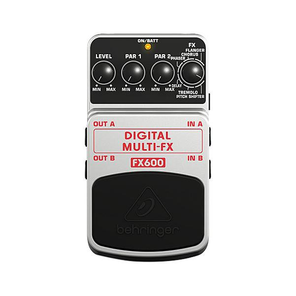 Behringer FX600 Digital Multi-FX Guitar Effects Pedal