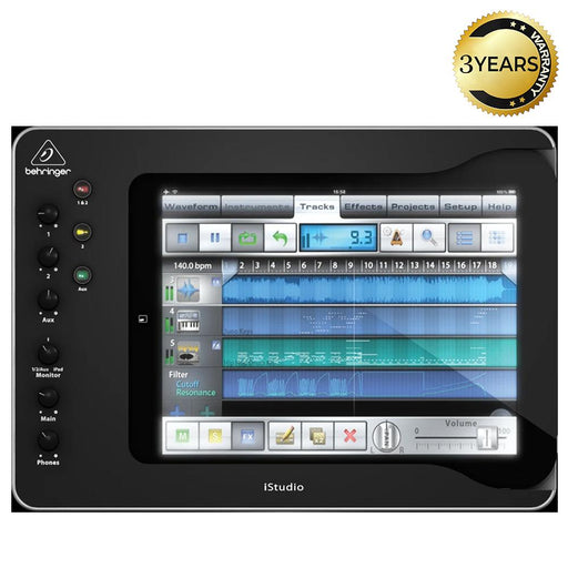 Behringer iStudio iS202 Professional iPad Docking Station-11