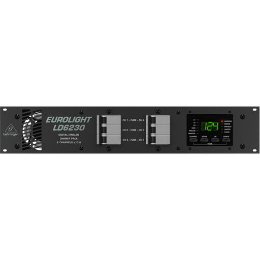 Behringer LD6230 - 6-channel Dimmer Rack