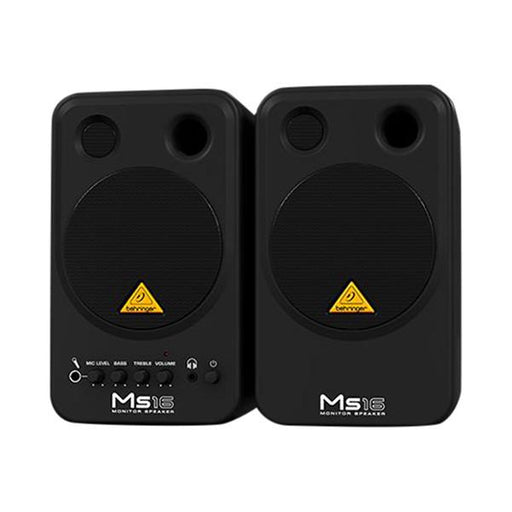 Behringer MS16 Active Personal Monitor Speaker System - Pair