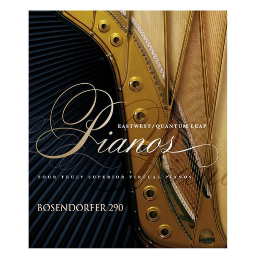 EastWest  BOSENDORFER 290 Pianos Virtual Instrument Downloadable Software & Plug-in - Gold