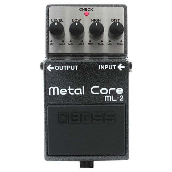 Boss ML-2 Metal Core Distortion Effect Pedal