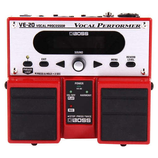 Boss VE-20 Vocal Multi-Effects Guitar Processor with Harmony and Looper
