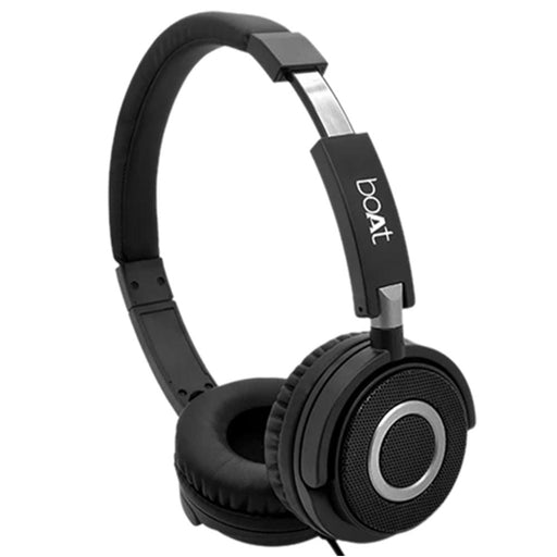 boAt BassHeads 900 On Ear Wired Headphone