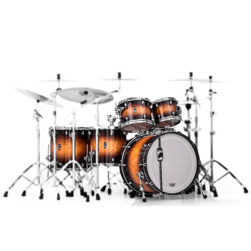 Mapex BPNV628XCUB 5-Piece Black Panther Velvetone Shell Pack Drum Kit - Butter Burst Burl